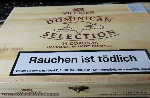 25er Kiste der Zigarre Villinger Doinican Selection Corona